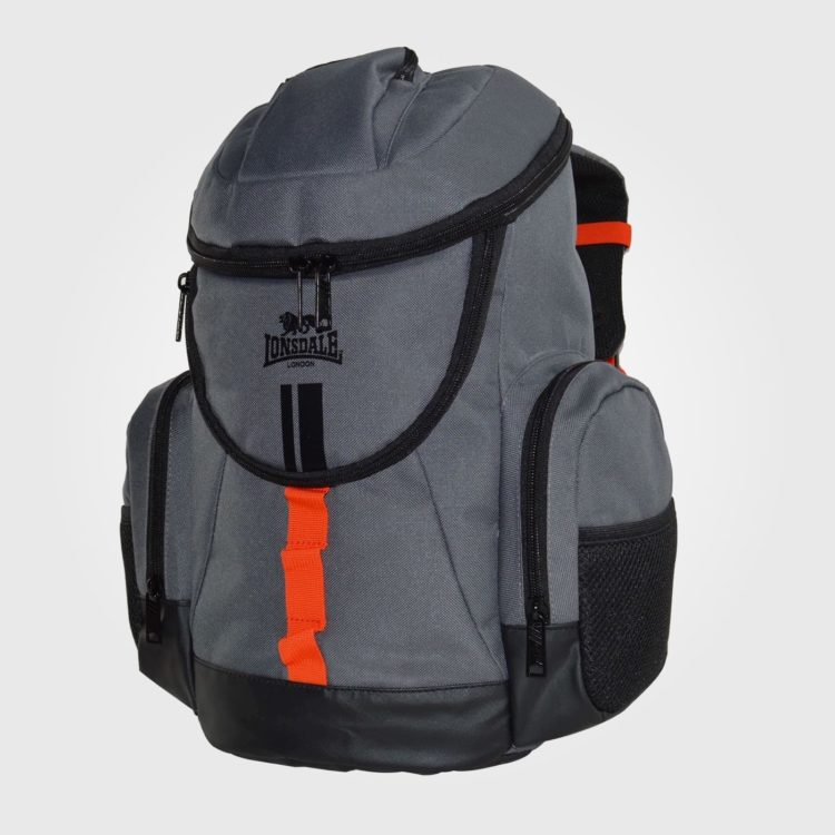 Рюкзак Lonsdale Niagara Charcoal Orange