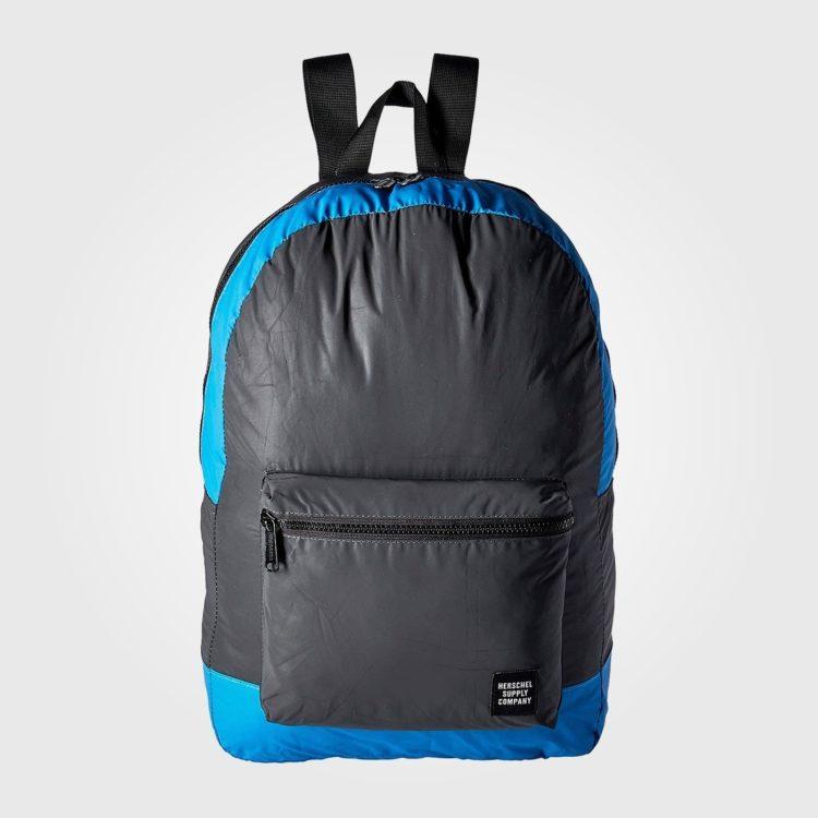 Рюкзак Herschel Packable Daypack Black Reflective/Neon