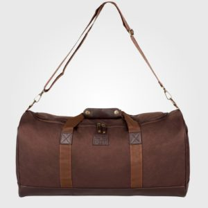 Сумка Kangol PU Trim Holdall Brown