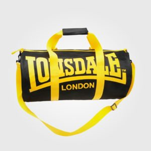 Сумка Lonsdale Barrel Black/Yellow