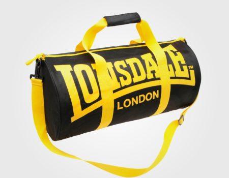 Сумка Lonsdale Barrel Black/Yellow