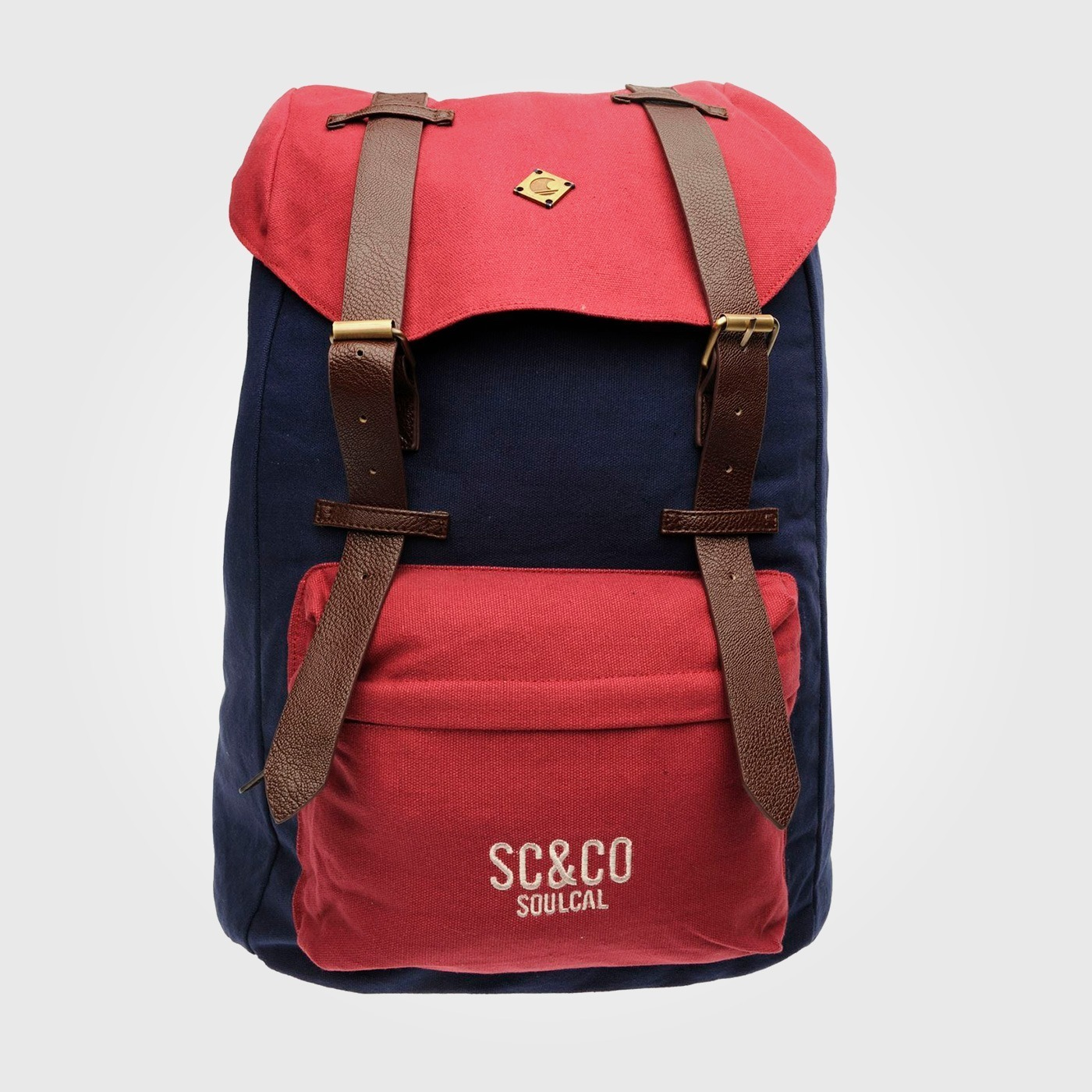 Рюкзак SoulCal Continental Hike Navy/Red