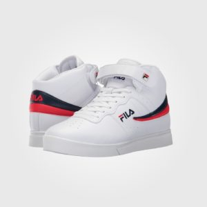 Кроссовки Fila Vulc 13 Mid Plus White/Navy/Red