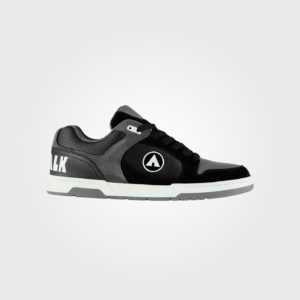Кроссовки Airwalk Throttle Mens Skate Shoes Black/Grey