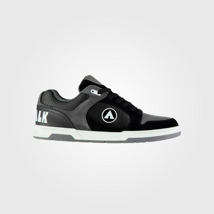Кроссовки Airwalk Throttle Mens Skate Shoes Black/Grey