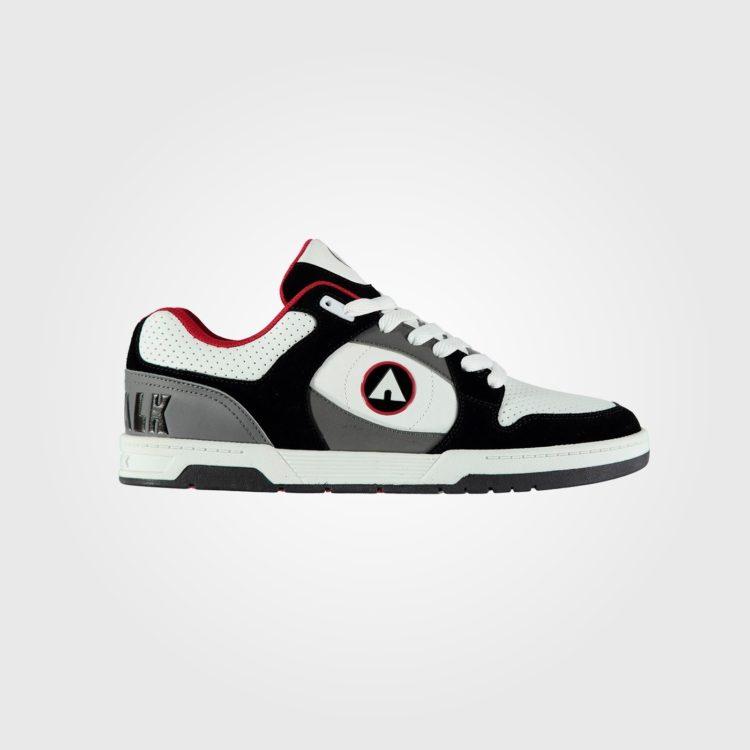 Кроссовки Airwalk Throttle Mens Skate Shoes Black/Wht/Red