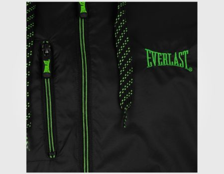Куртка Everlast Geo Rain Mens Black/Green
