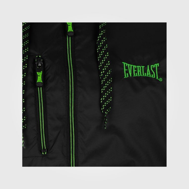 Куртка Everlast Geo Rain Mens Black/Green