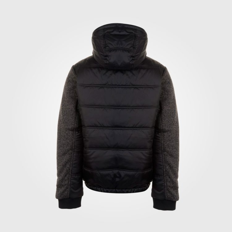 Куртка Everlast Knit Sleeve Mens Black/CharTwist