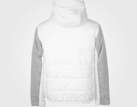 Куртка Everlast Knit Sleeve Mens White/GreyTwist