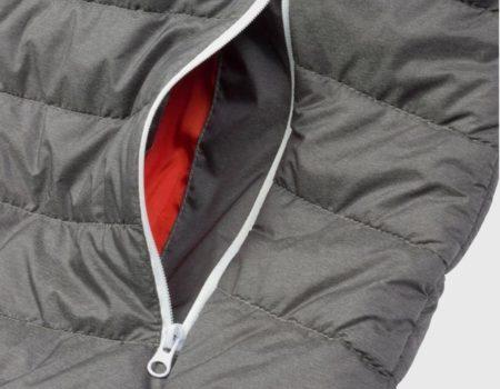 Куртка Lee Cooper Lightweight Hooded down Mens Grey