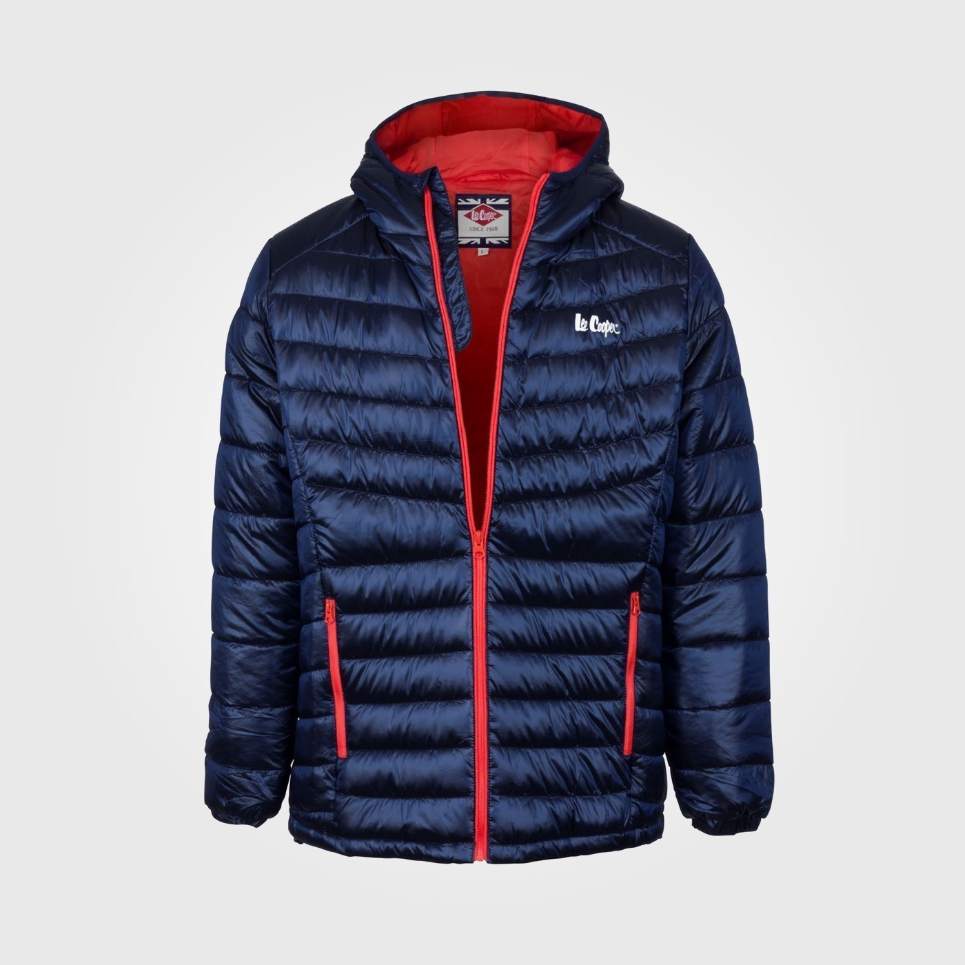 Куртка Lee Cooper Lightweight Hooded down Mens Navy
