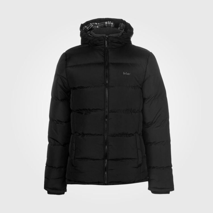 Куртка Lee Cooper 2 Zip Bubble Mens Black