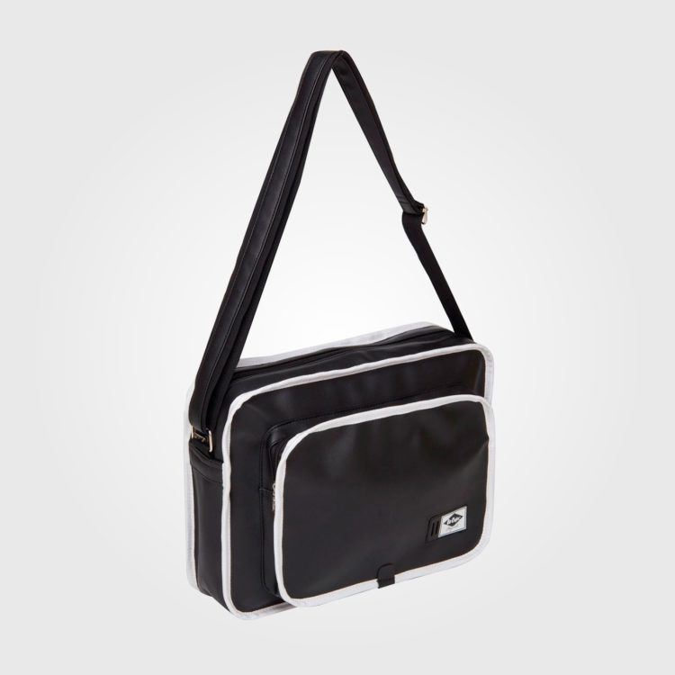 Сумка Lee Cooper PU Flight Black/White