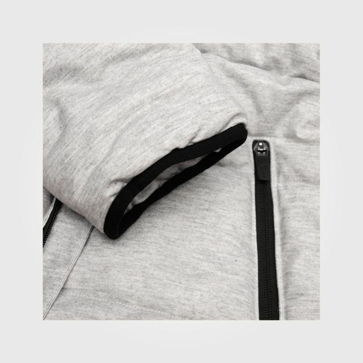 Зимняя куртка Lonsdale Baffle Mens Grey Marl