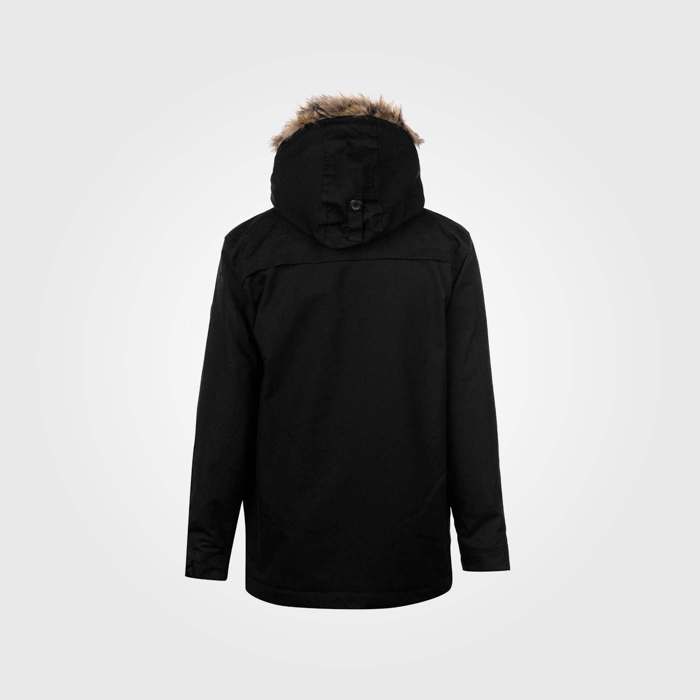 Куртка SoulCal Parka Mens Black