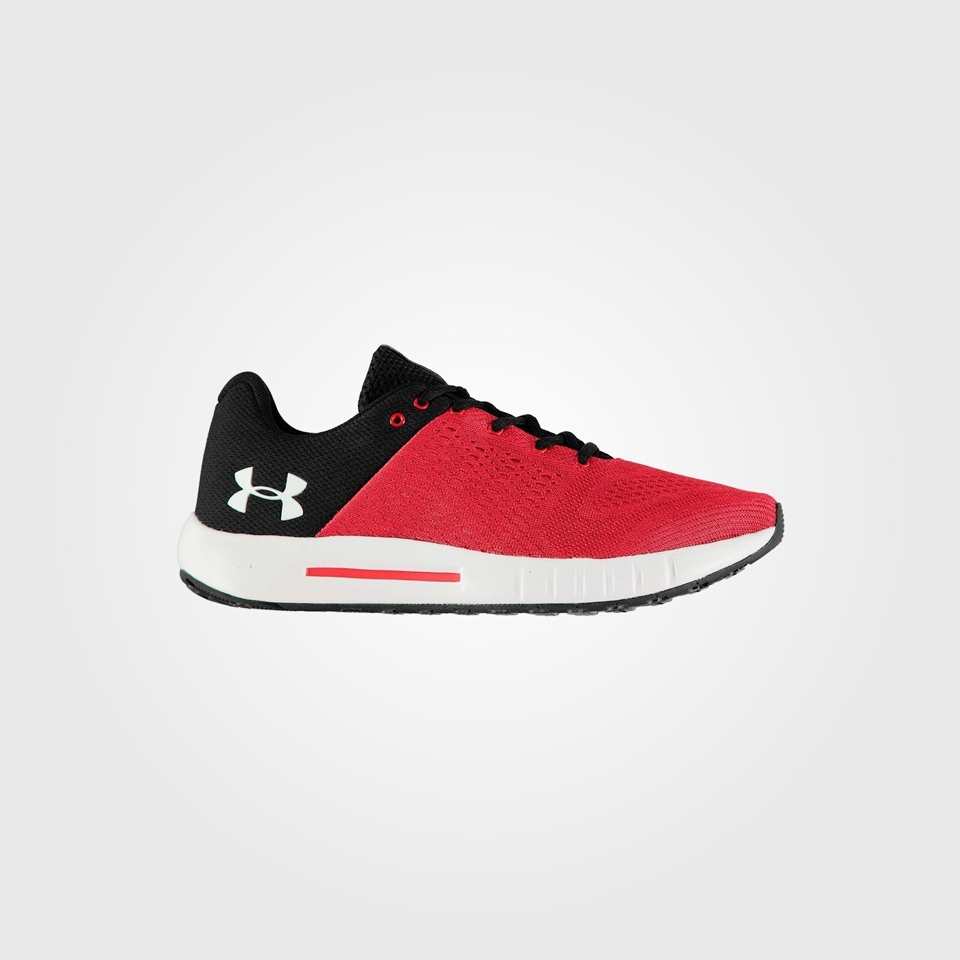 Кроссовки Under Armour Micro G Pursuit Mens Trainers Red/Black/White