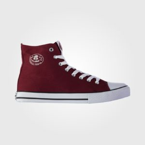 Кеды Dunlop Mens Canvas High Top Burgundy