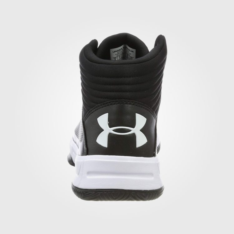 Кроссовки Under Armour Lockdown 2 Basketball Mens Black/White