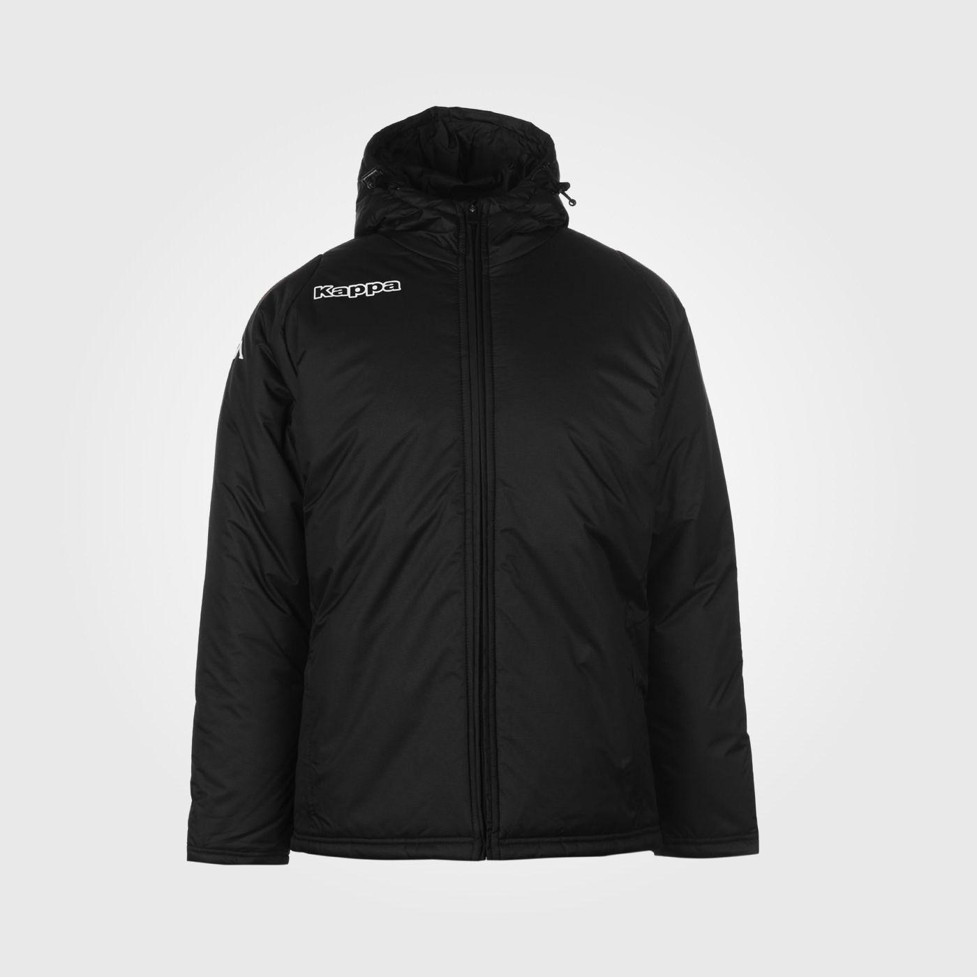 Куртка Kappa Padded Mens Black/White