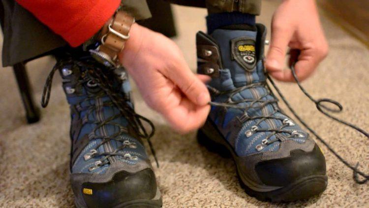 Оригинальные варианты шнуровки обуви