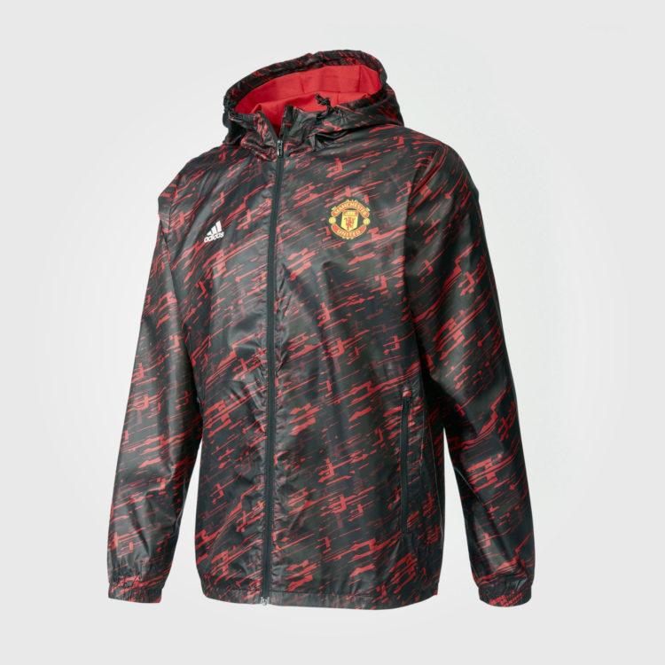 Куртка Adidas Manchester United Wind Breaker Mens Black