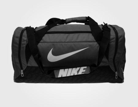 Сумка Nike Brasilia Medium Holdall Gray