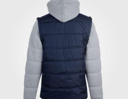Куртка Lee Cooper Mixed Fabric Padded Navy/Grey утепленная