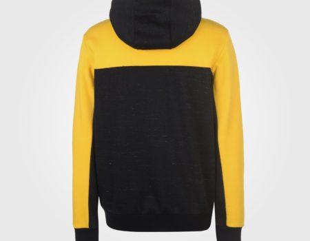 Толстовка Everlast Bronx Zip Mens Black/Yellow