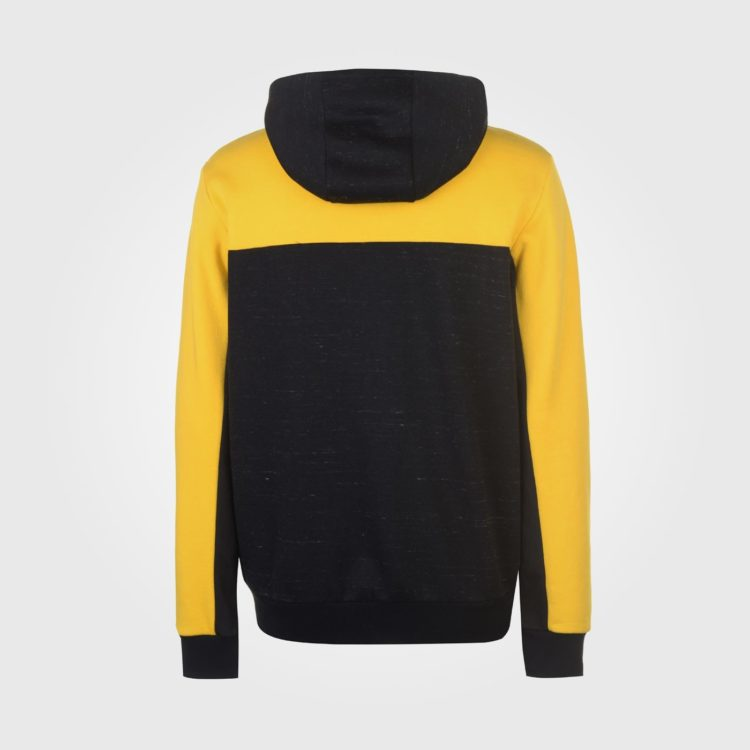 Толстовка Everlast Bronx Zip Mens Black/Yellow