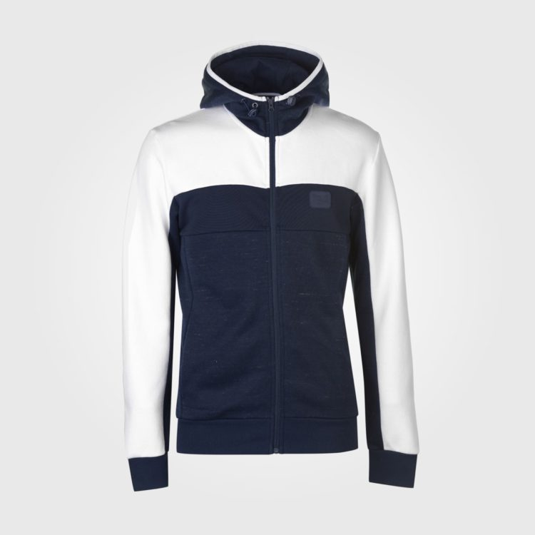Толстовка Everlast Bronx Zip Hoody Mens Navy/White