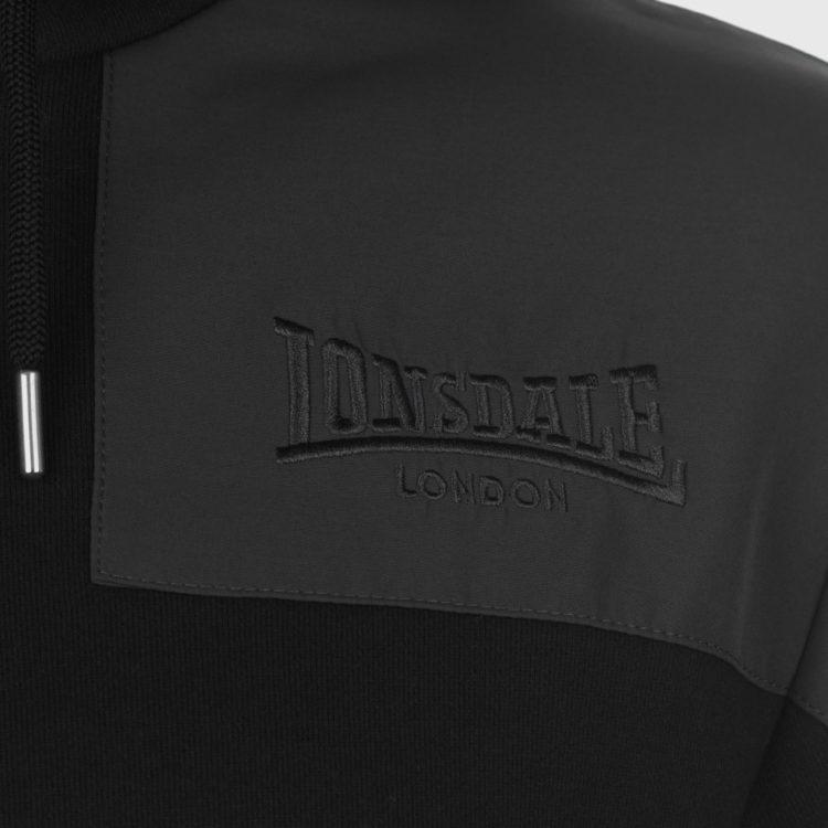 Толстовка Lonsdale Hvy OTH HoodS81 Black