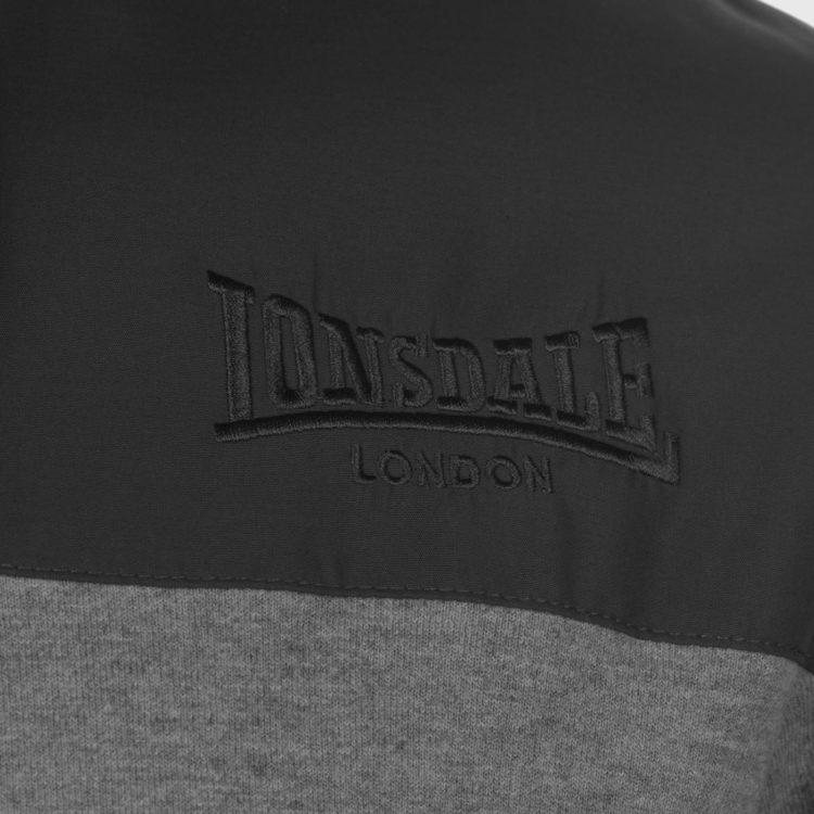 Толстовка Lonsdale Hvy OTH HoodS81 Grey Marl