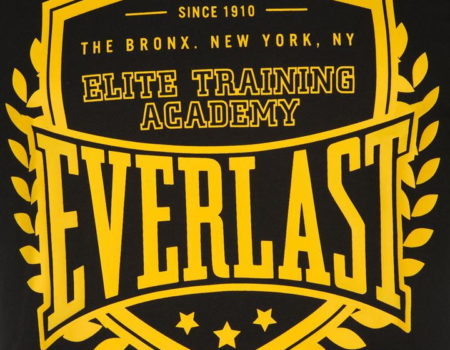 Футболка Everlast Mens Black Sheild