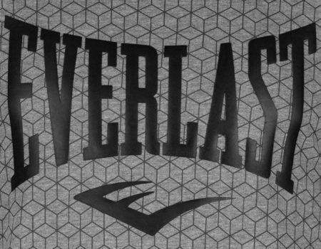 Футболка Everlast Geometric Print Mens Black Geo