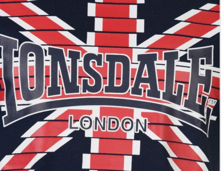 Футболка Lonsdale LDN Logo Mens Navy