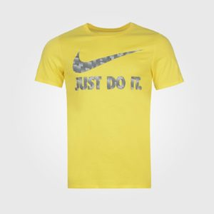Футболка Nike JDI Swoosh QTT Mens Yellow