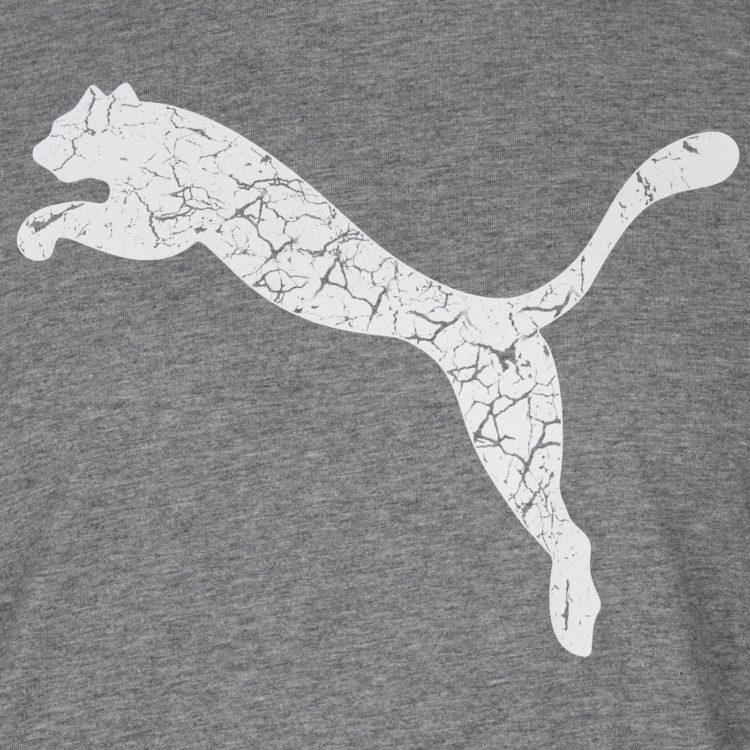 Футболка Puma Big Cat QT Mens Med Grey