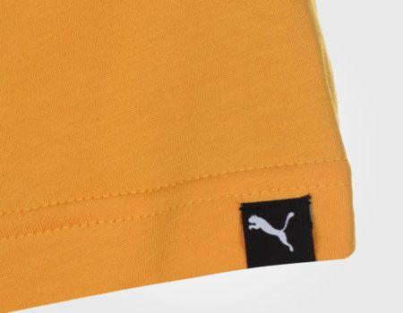 Футболка Puma Box QT Mens Yellow