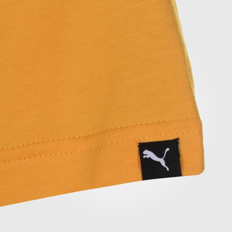 Футболка Puma Box QT Mens Yellow