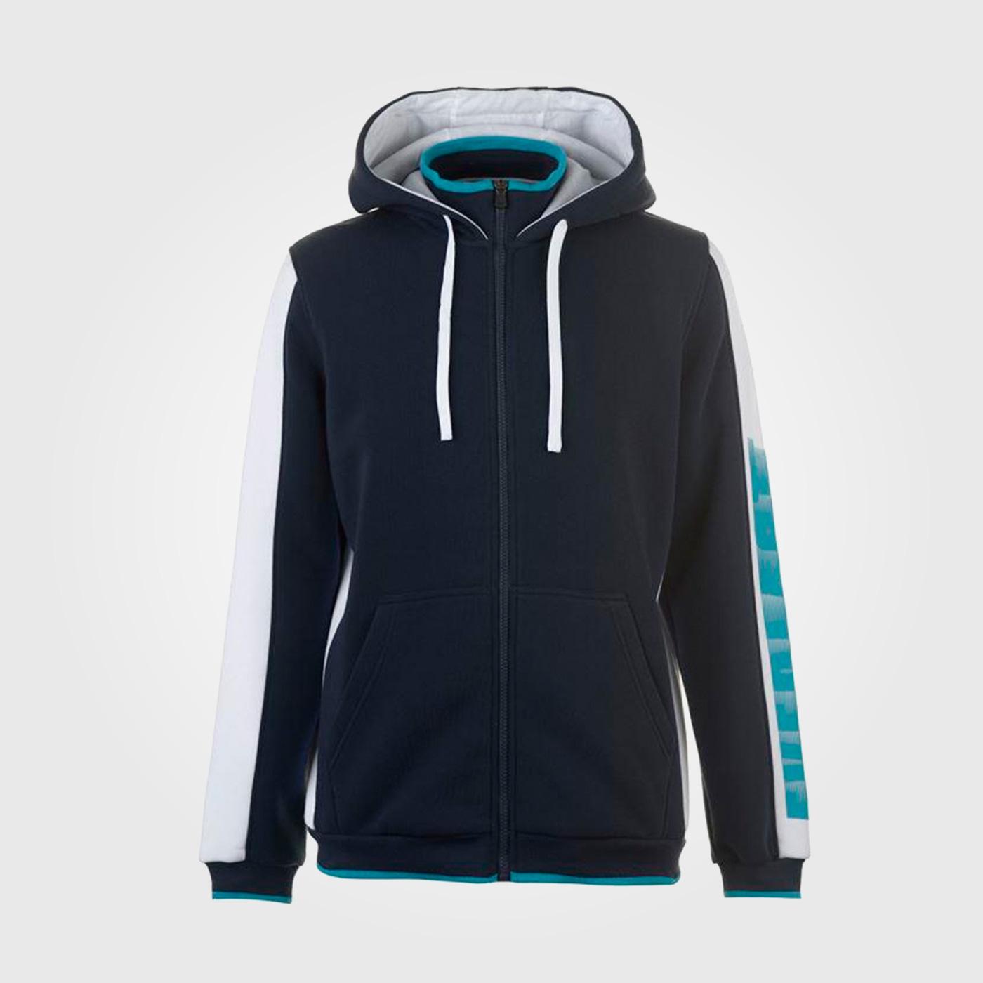Толстовка Everlast Plush Fleece Zipped Mens SN91 Navy