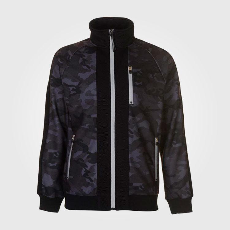 Толстовка Everlast Premium Zip Top Mens Camoflage