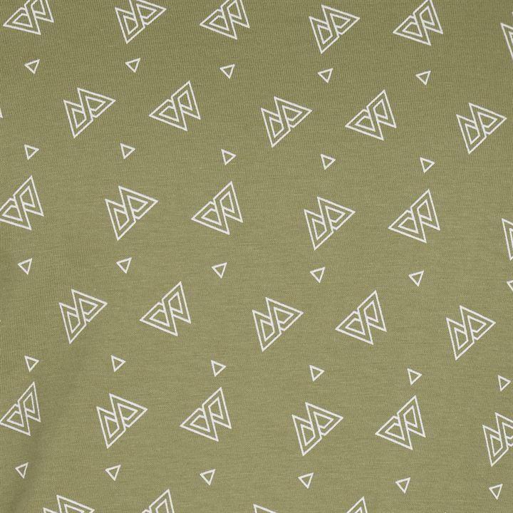 Футболка Pierre Cardin Geometric Printed Mens Olive