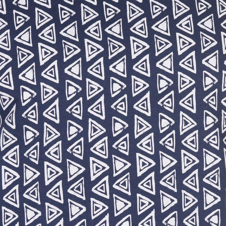 Футболка Pierre Cardin Geometric Printed Mens Indigo