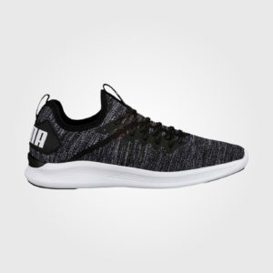 Puma Ignite Flash Mens Trainers Black/White