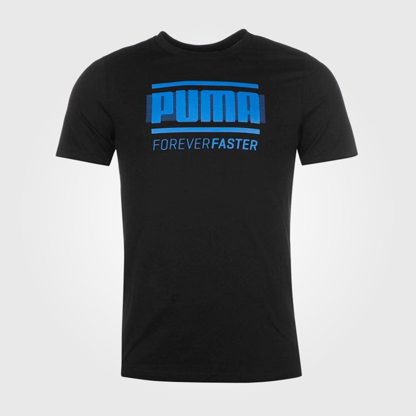 Футболка Puma Retro Mens Black