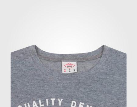 Футболка Lee Cooper Large Logo Print Mens Grey