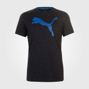 Футболка Puma Big Cat QT Mens Drk Grey/Blue
