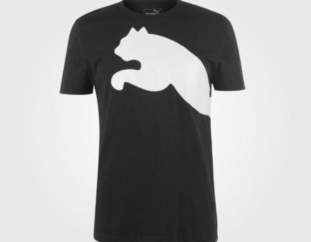 Футболка Puma Huge Cat QT Mens Black/White