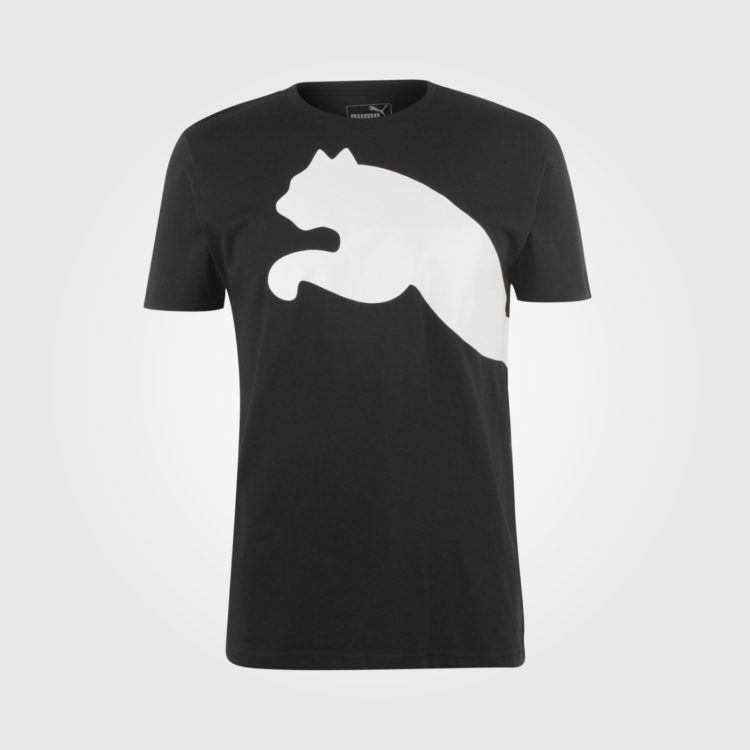 Футболка Puma Huge Cat QT Mens Black/White